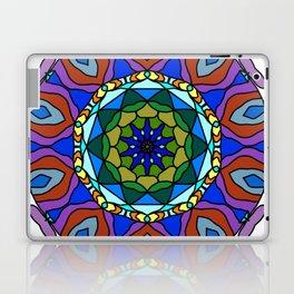 pastel fractal mandala Laptop & iPad Skin