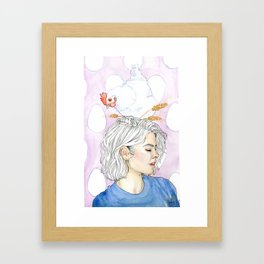 Uh la la! Framed Art Print