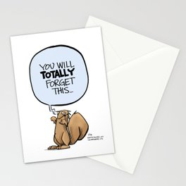 You'll totally forget Stationery Cards