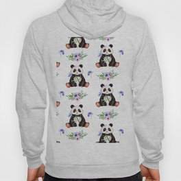 Garden Panda Hoody
