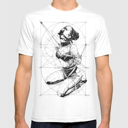 Restrained In Geometry. ©Yury Fadeev T-shirt