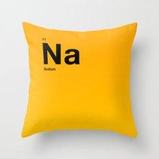 Sodium Throw Pillow