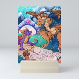 Thanks Spyro! Zine submission Mini Art Print