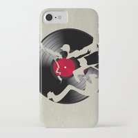 music iPhone & iPod Cases featuring music  by mark ashkenazi