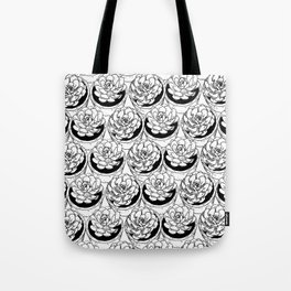 Succulents Pattern Tote Bag