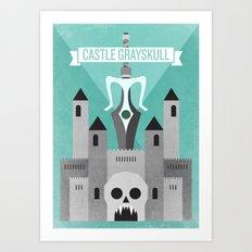 Castle Grayskull Art Print