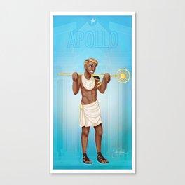 Greek Gods - Apollo Canvas Print