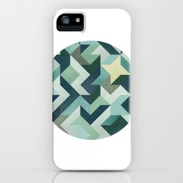 Circle Geometry iPhone Case