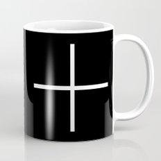 white cross Mug