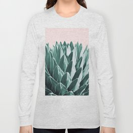 Agave Chic #10 #succulent #decor #art #society6 Long Sleeve T-shirt