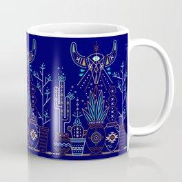 Santa Fe Garden – Navy Coffee Mug