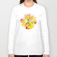 fireworks Long Sleeve T-shirts featuring Fireworks by Sobhani
