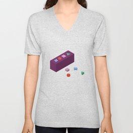 PAUSE – Building Blocks Unisex V-Neck