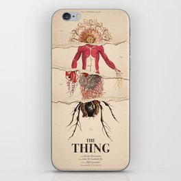 The Thing Alternative Film Poster iPhone Skin