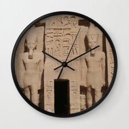 Abu Simbel 002 Wall Clock