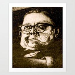 Old Man Art Print