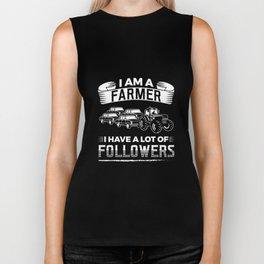I Am Farmer I Have A Lot Of Followers Tractors Ranch Design Biker Tank