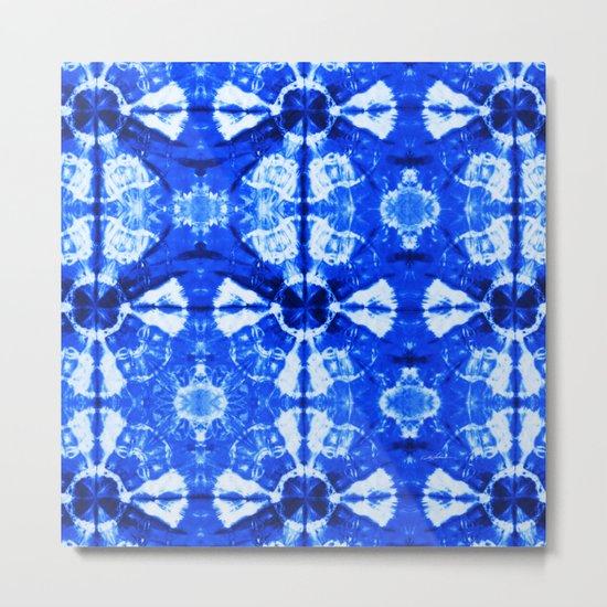 It's Bloomin' Blue Metal Print