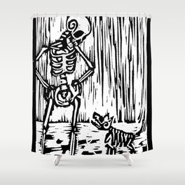 Filthy Shower Curtain