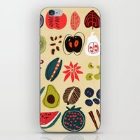 spice iPhone & iPod Skins featuring Fruit and Spice Rack by Picomodi