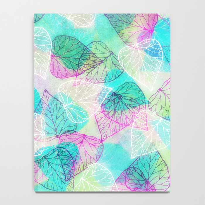 Translucent Leaves Notebook