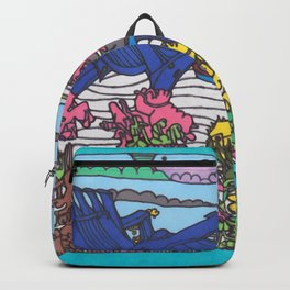 Beach Chairs Backpack