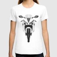 honda T-shirts featuring Honda Motorcycle by SABIRO DESIGN