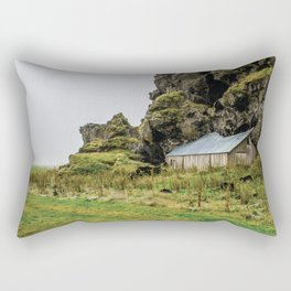 House in the Hill Rectangular Pillow