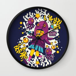 Overbite: Octofizz 2 Wall Clock