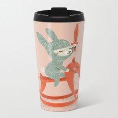 Rabbit Knight Metal Travel Mug