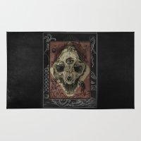 alchemy Area & Throw Rugs featuring Alchemy 1800 by Dark Room