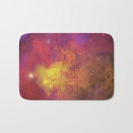Nebula (Text) Bath Mat