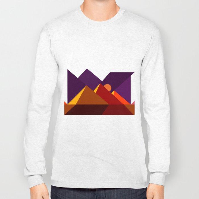 Road to Giza Long Sleeve T-shirt