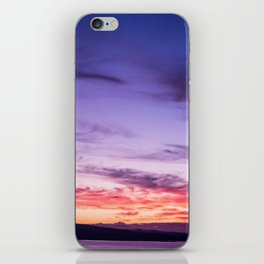 Auckland Sunset iPhone Skin