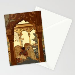 Angels in Oasis Stationery Cards