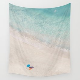 The Aqua Umbrella Wall Tapestry