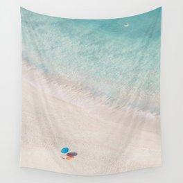 The Aqua Umbrella Wall Tapestry