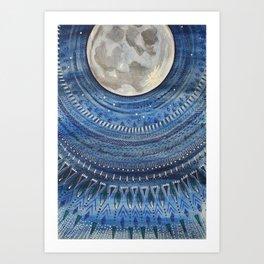 Lunar Scape 1 Art Print