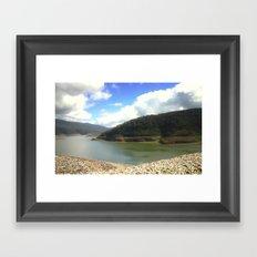 Thompson Reservoir Framed Art Print