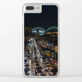 Alaska Way Viaduct Clear iPhone Case