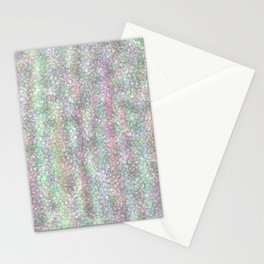 Spring Rain Drops Falling Stationery Cards