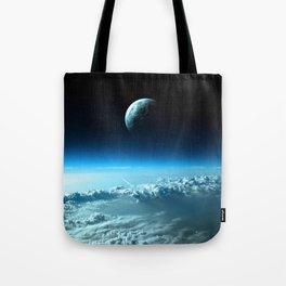 Outter Earth Tote Bag