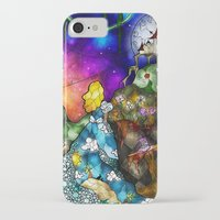 mandie manzano iPhone & iPod Cases featuring Wonderland (Once Upon A Time Series) by Mandie Manzano