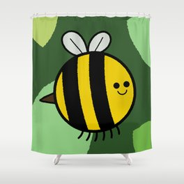 Cutesy Crawlies — Bumblebee Shower Curtain