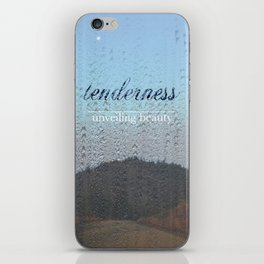 Unveiling Beauty - Tenderness iPhone Skin