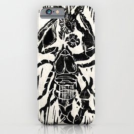 Scorpio Intaglio Print iPhone Case