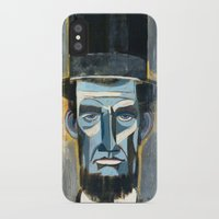 lincoln iPhone & iPod Cases featuring Lincoln  by Oliver Dominguez