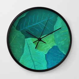 Collard Greens Wall Clock