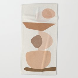 Balancing Elements II Beach Towel