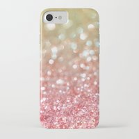 champagne iPhone & iPod Cases featuring Champagne Tango by Lisa Argyropoulos